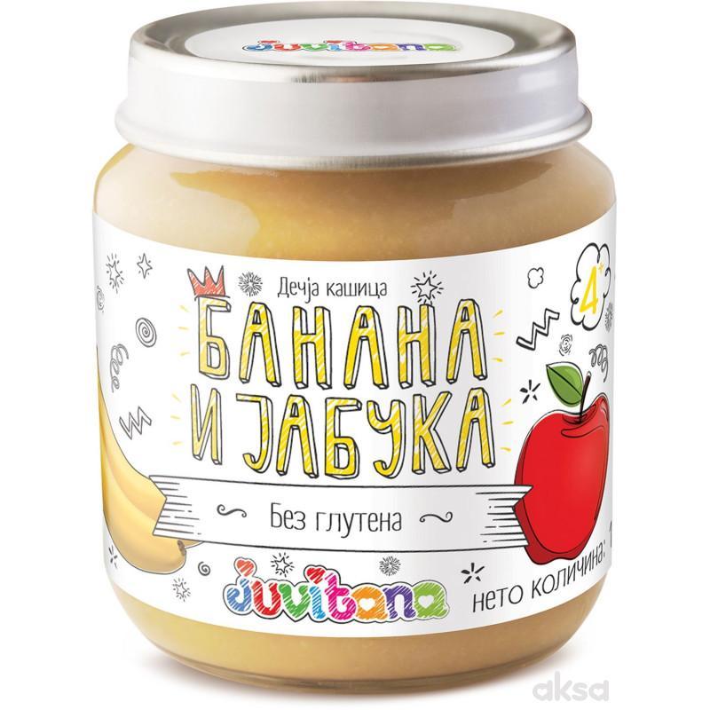 Juvitana kašica banana i jabuka 128g