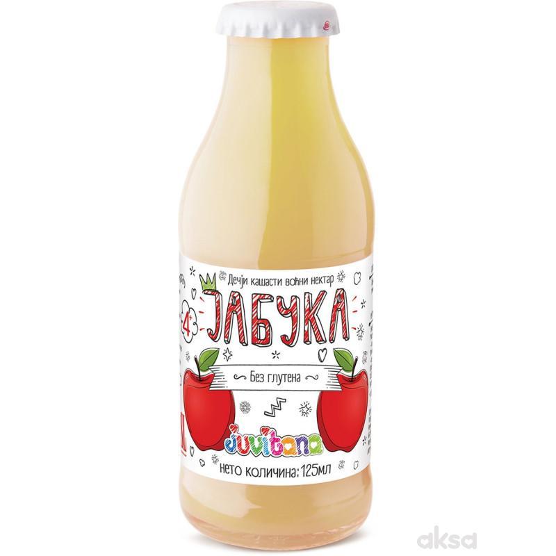 Juvitana kašasti sok jabuka 125ml