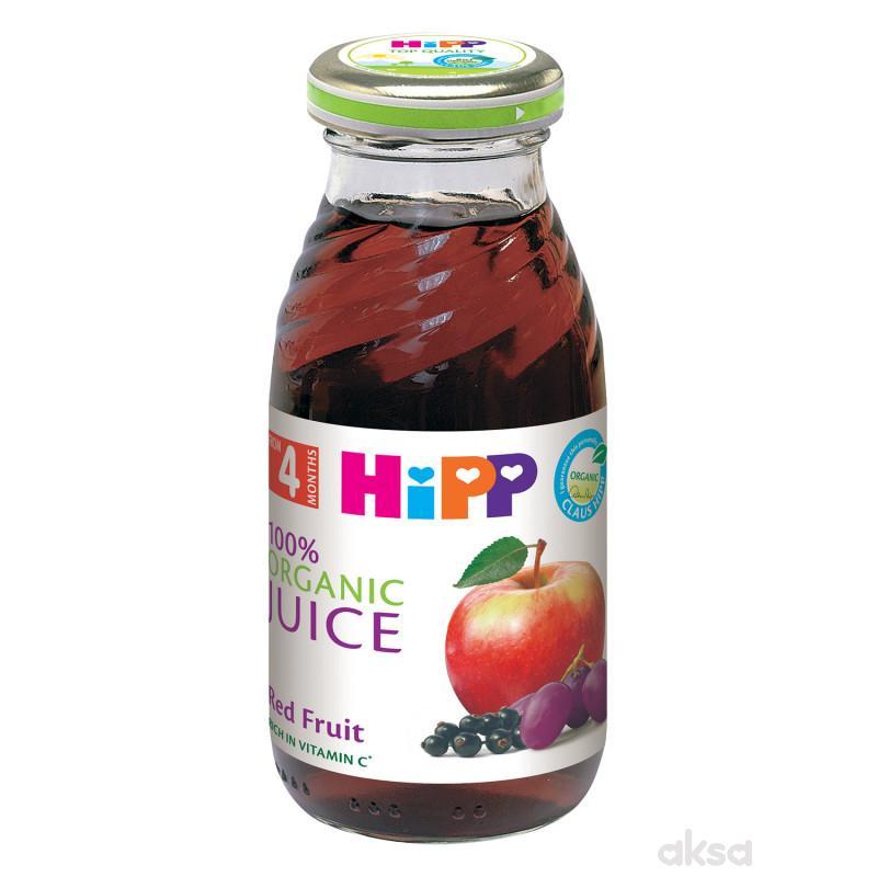 Hipp sok jabuka i crveni plodovi 200ml