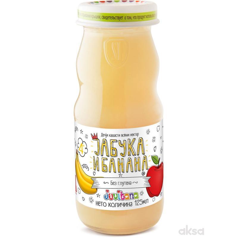 Juvitana kašasti sok jabuka i banana 125ml
