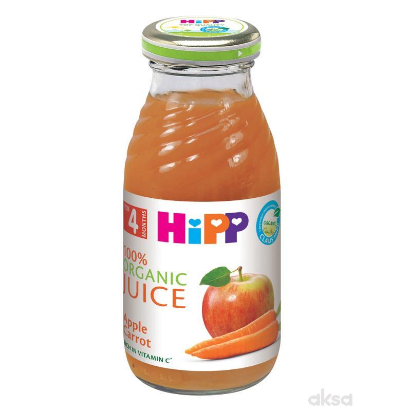Hipp sok jabuka i šargarepa 200ml