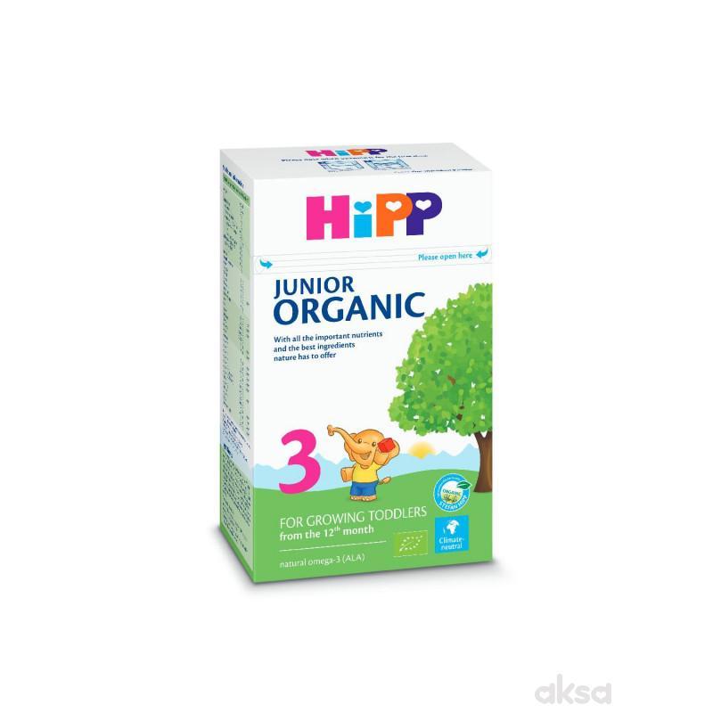 Hipp mleko organic 3 500g