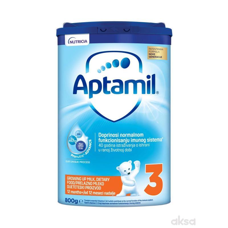 Milupa mleko aptamil 3 800g easy pack