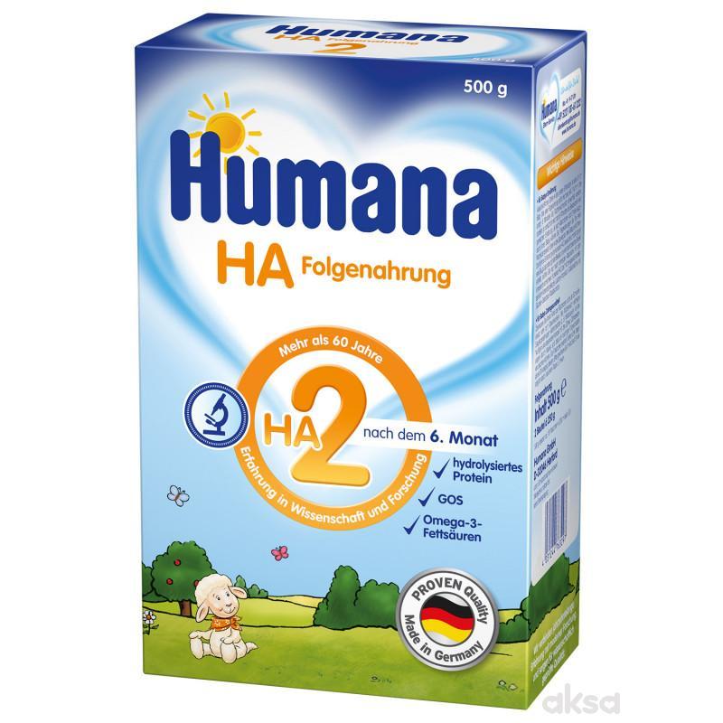 Humana mleko HA 2 500g,