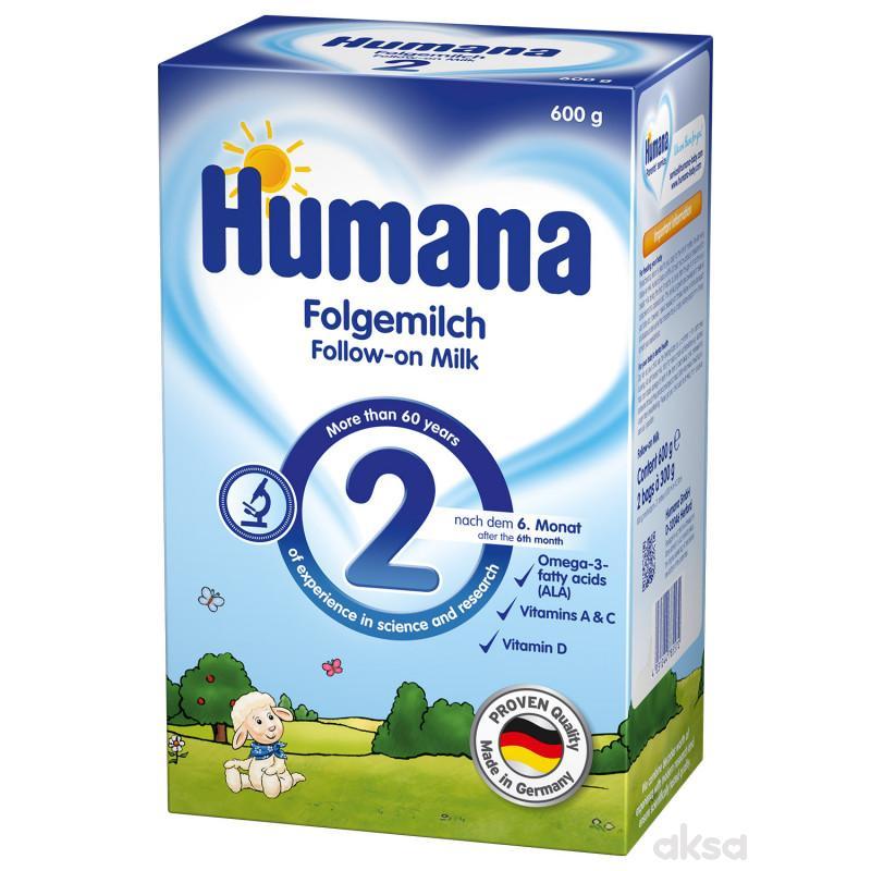 Humana mleko 2 PB 600 gr,