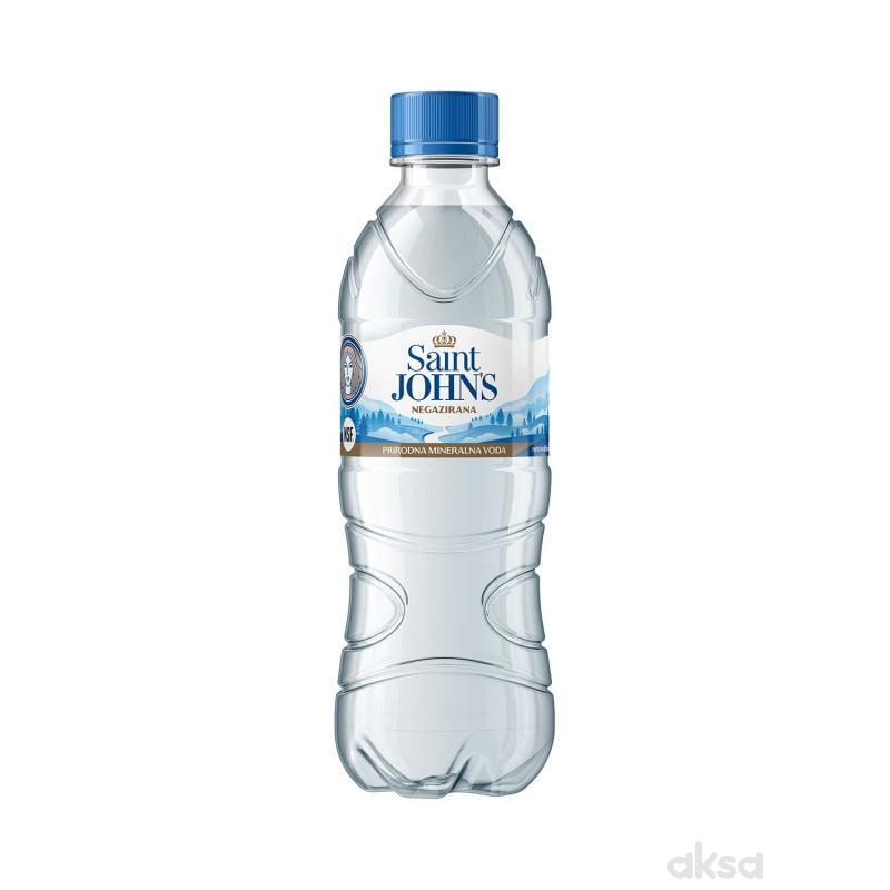 Saint Johns prirodna min. voda negazirana 0,5l