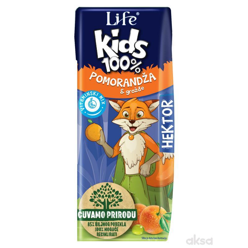 Nectar kids sok pomorandža 100% 0,2l