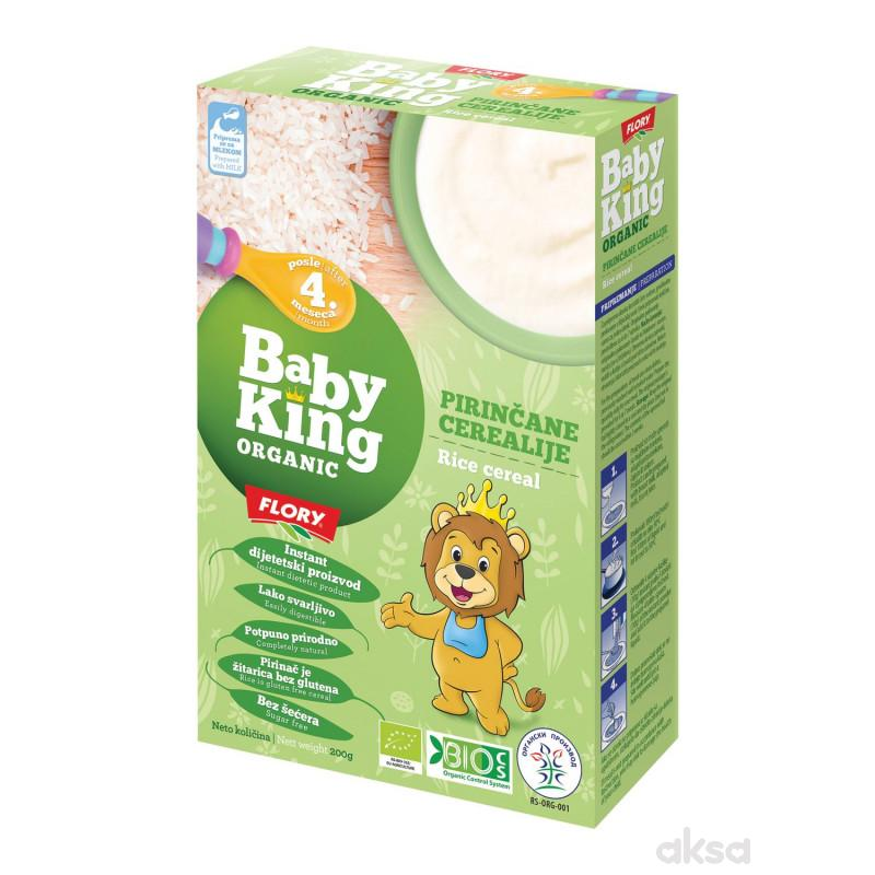 Baby king instant kaša pirinač organic 200g