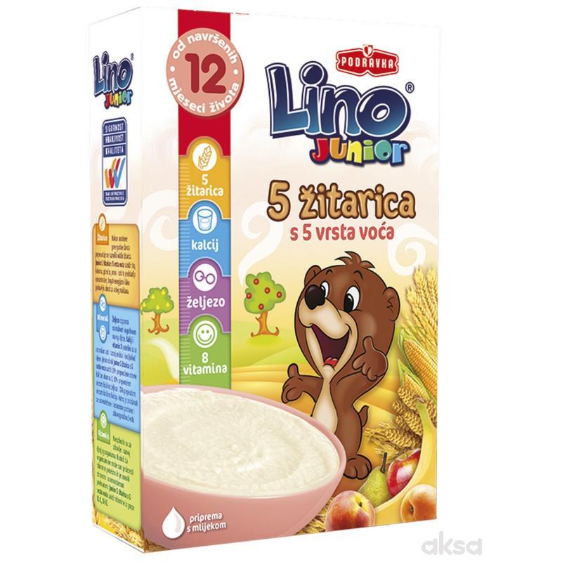 Lino bezmlečna instant kaša 5 žit. i 5 voća 200g
