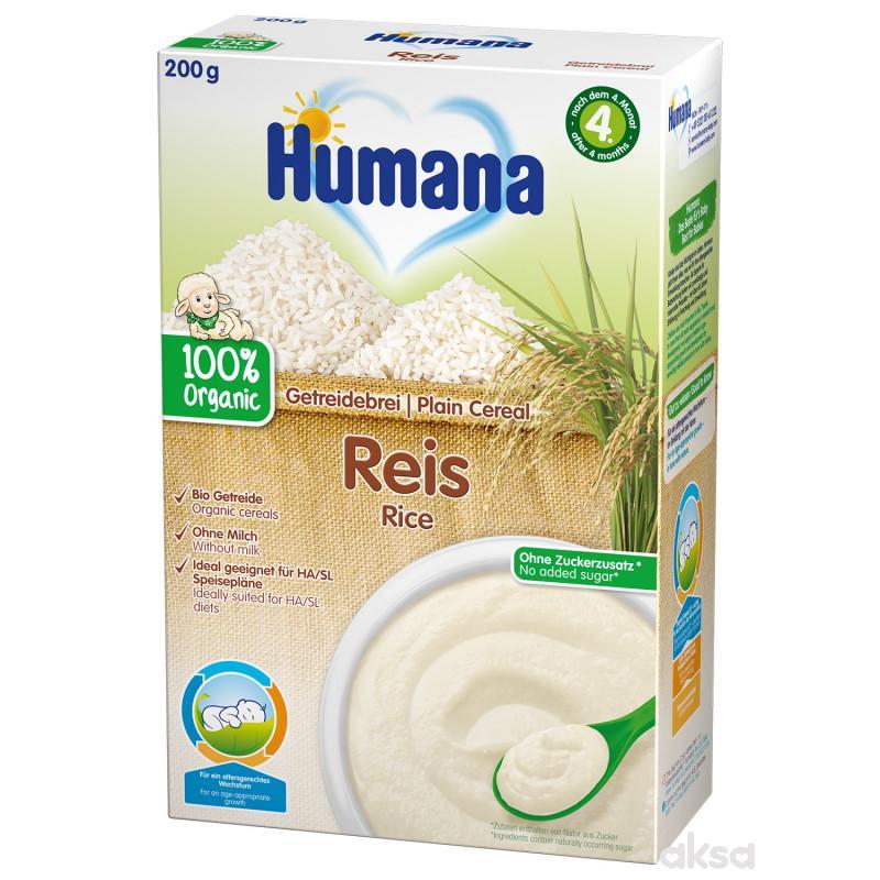 Humana organska bezml. ins. kaša sa pirinčem 200g