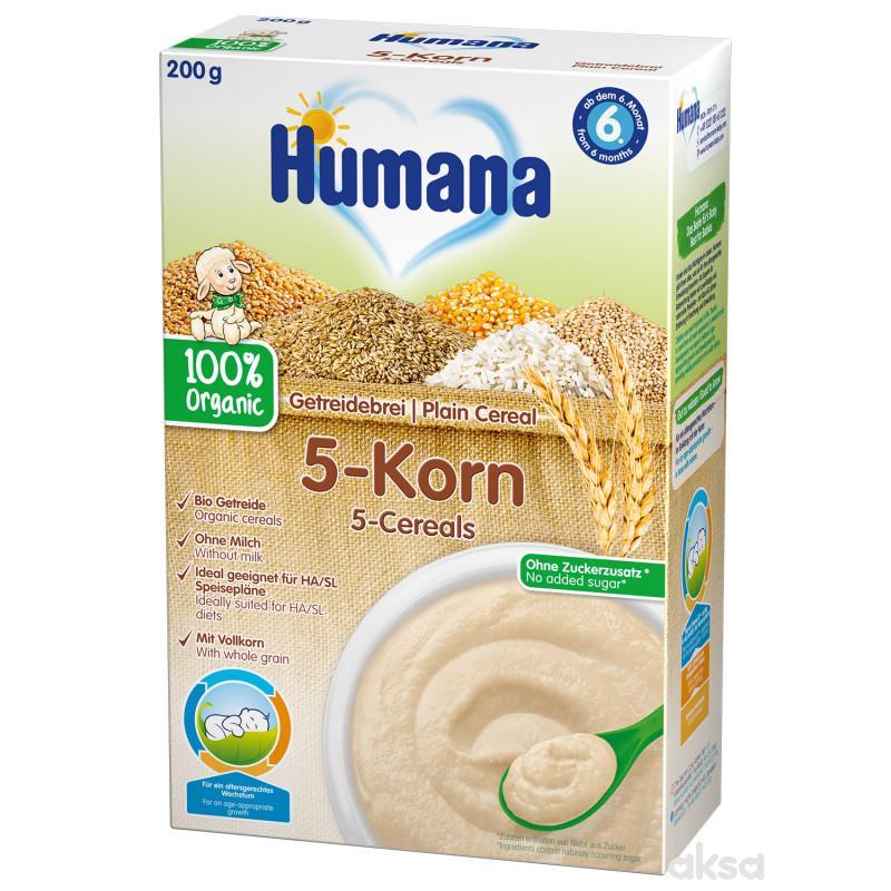 Humana ogr. bezml. ins. kaša sa 5 žitarica 200g