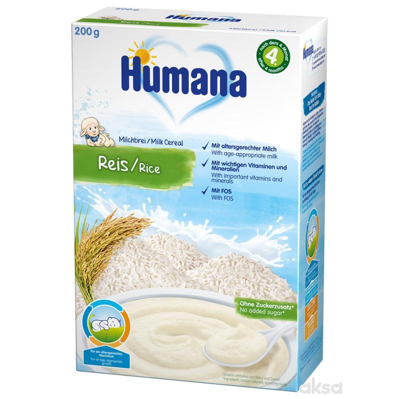 Humana mlečna kašica sa pirinčem 200g,