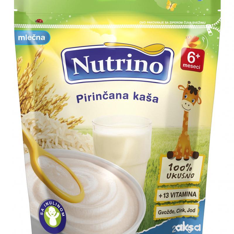 Nutrino mlečna instant kaša pirinač 200g