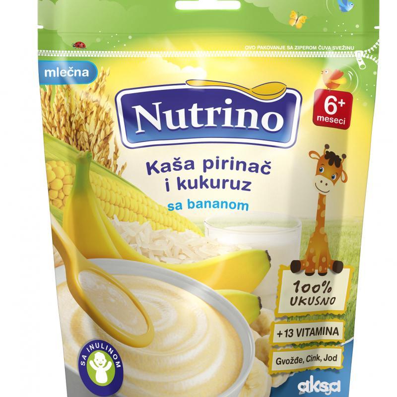 Nutrino ml. instant kaša pir.i kukuruz sa ban 200g