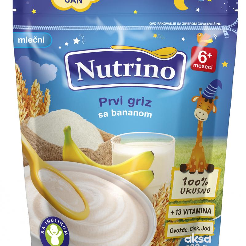 Nutrino ml. inastant kaša prvi griz sa banan 200g
