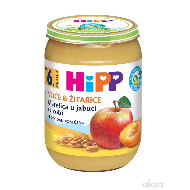Hipp kašica kajsija u jabuci sa ovsom 190g