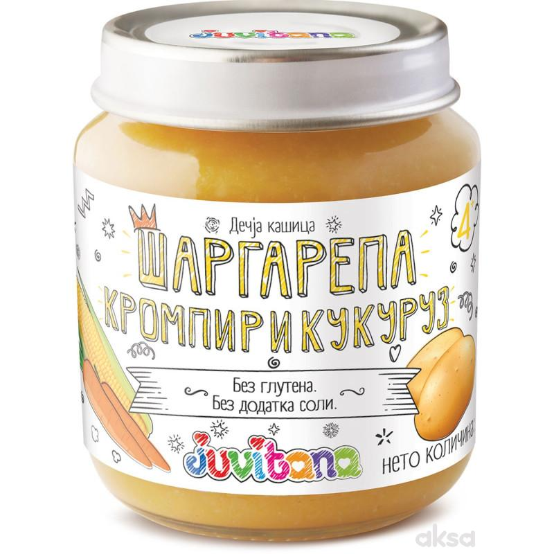 Juvitana kašica mrkva, krompir i kukuruz 128g