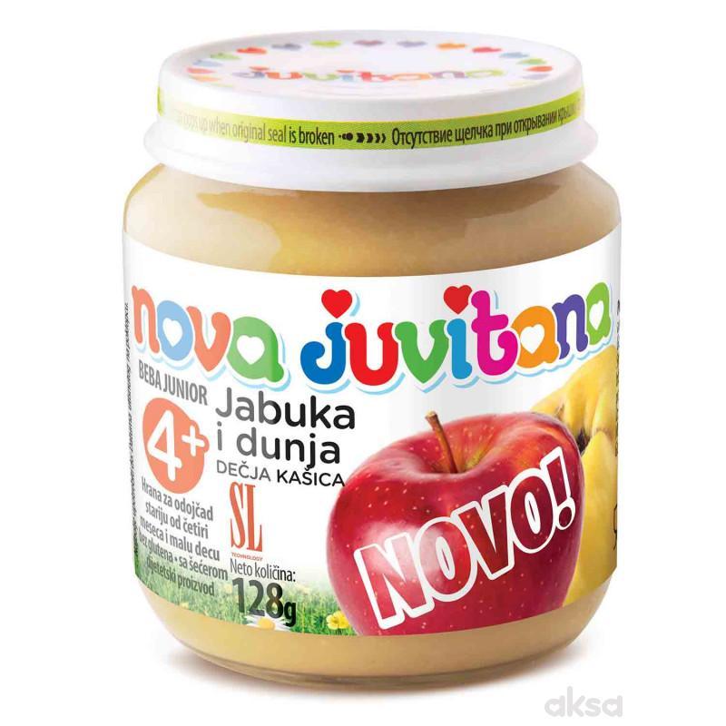 Juvitana kašica jabuka i dunja 128g