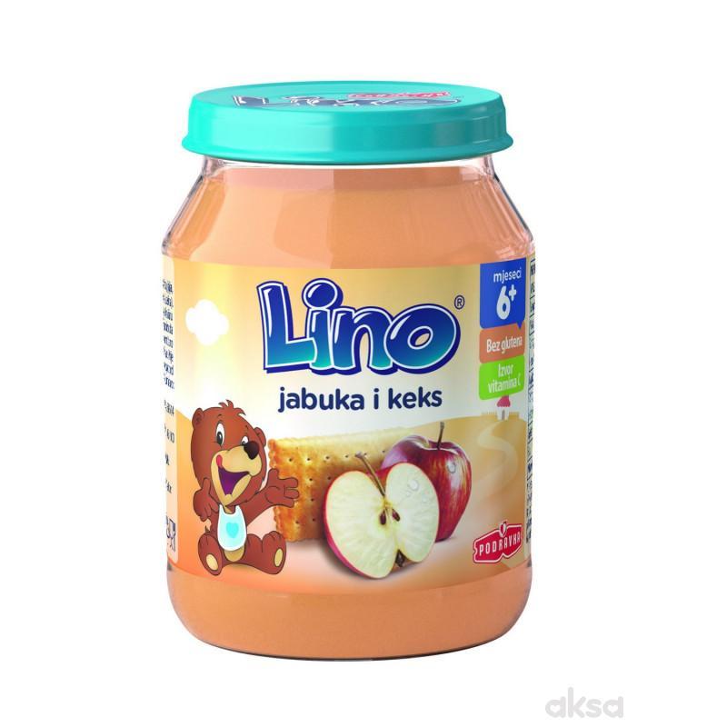 Lino kašica jabuka i keks 190g