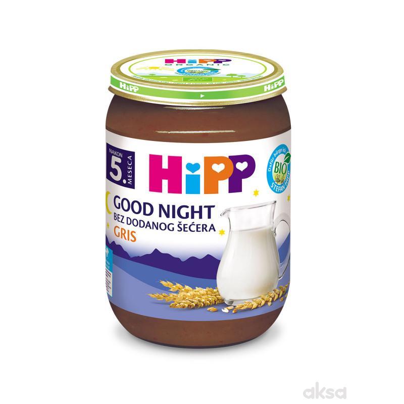 Hipp kašica za l. noć sa pšeničnim grizom 190g