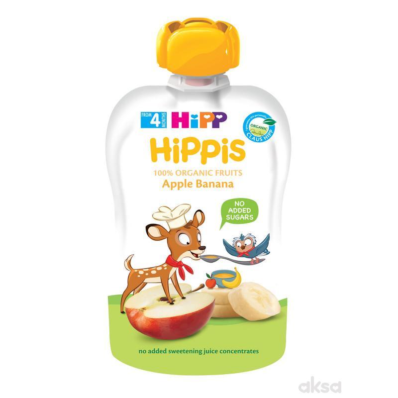 Hipp pouch jabuka i banana 100g