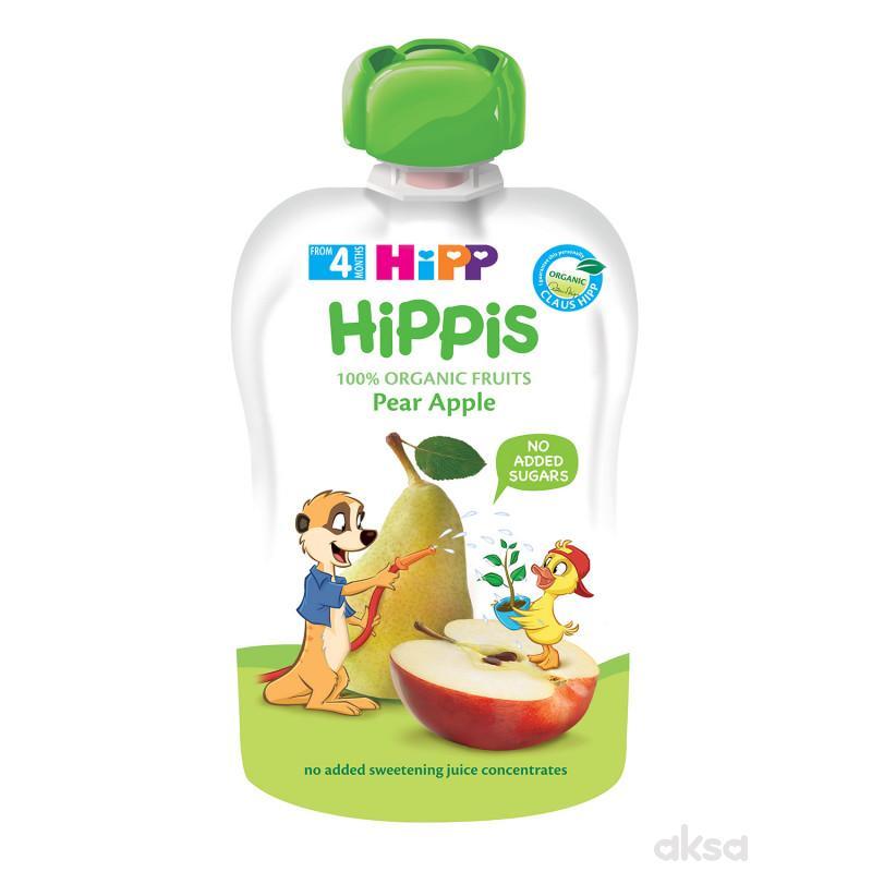 Hipp pouch kruška i jabuka 100g