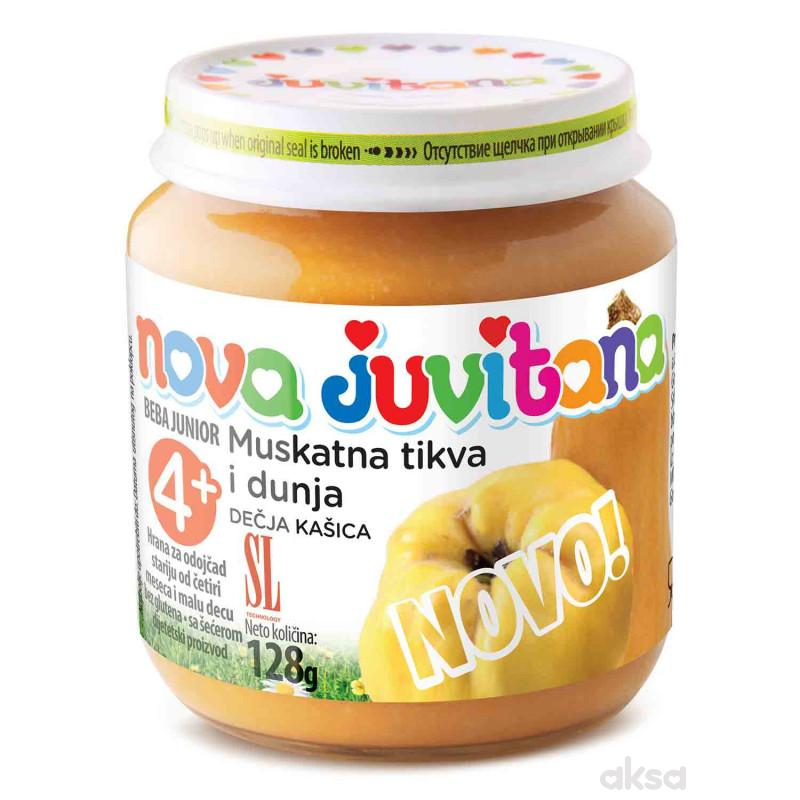 Juvitana kašica muskantna tikva i dunja 128g