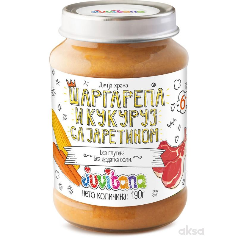 Juvitana kašica mrkva i kukuruz sa jaretinom 190g