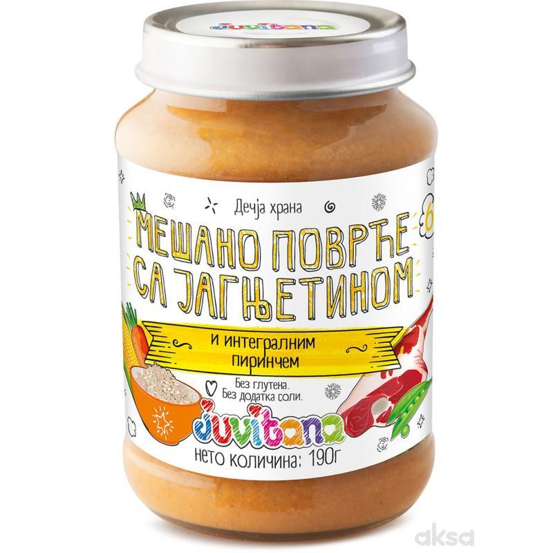 Juvitana kašica povrće sa jagnj. i int. pir. 190g