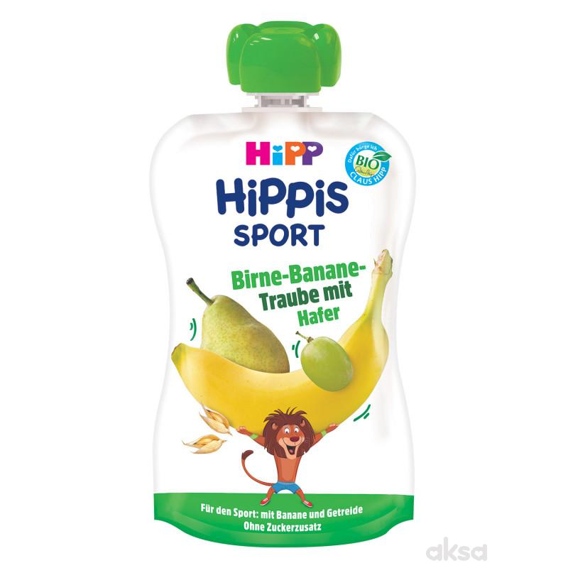 Hipp pouch kruška,grožđe, banana sa ovasom 120g