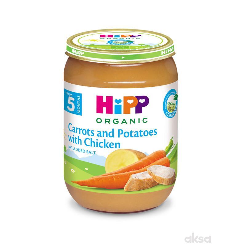 Hipp kašica šargarepa i krompir sa piletinom 190g