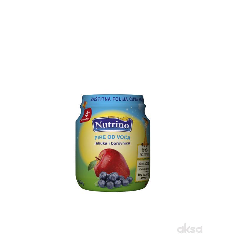 Nutrino kašica jabuka i borovnica 125g