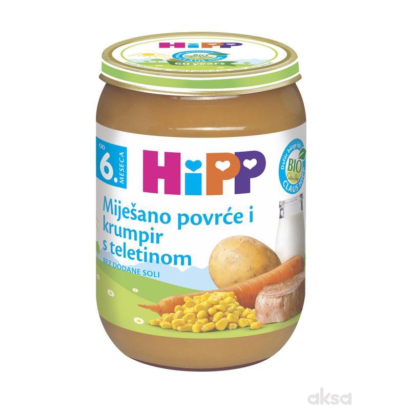 Hipp kašica povrće, krompir i teletina 190g