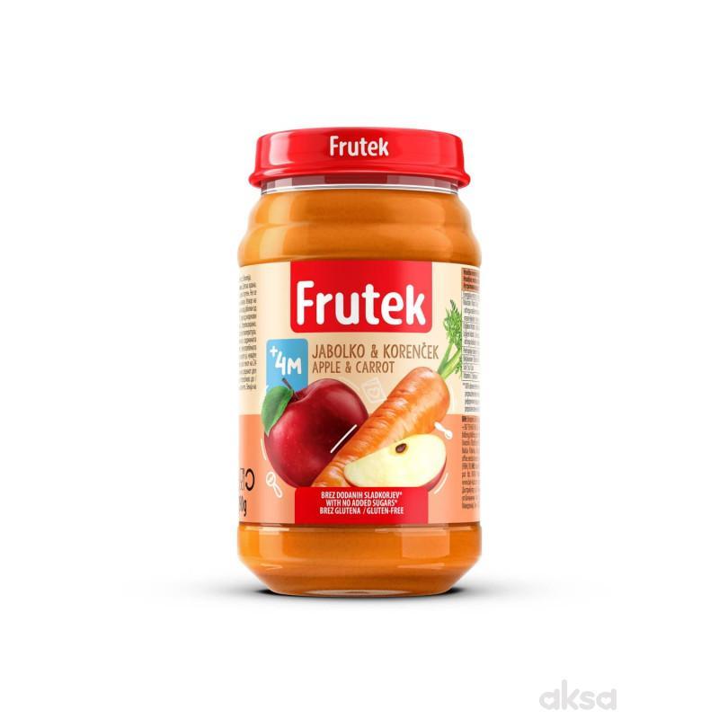 Frutek kašica šargarepa i jabuka 190g