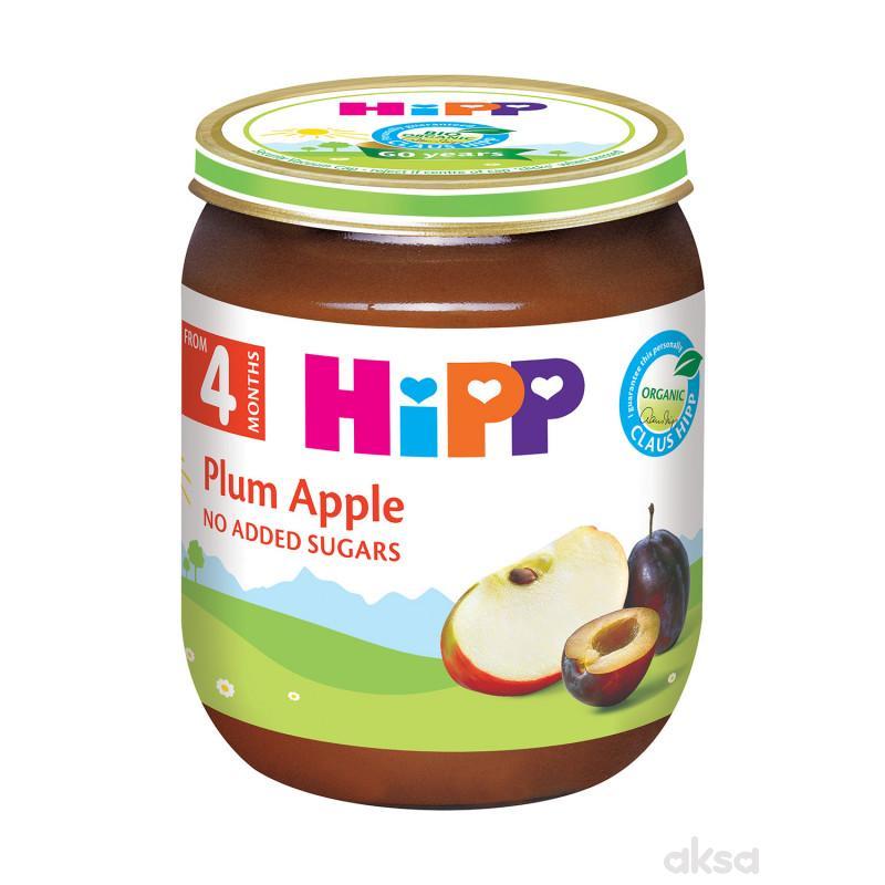 Hipp kašica jabuka i šljiva 125g