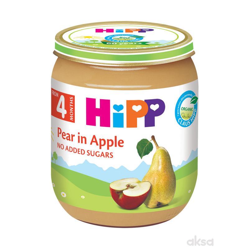 Hipp kašica kruška i jabuka 125g