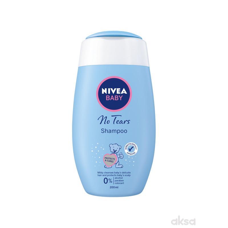 Nivea baby šampon blagi 200ml