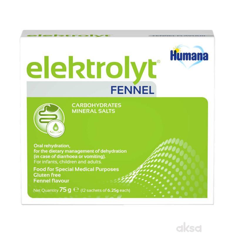 Humana Elektrolit - komorača 75g