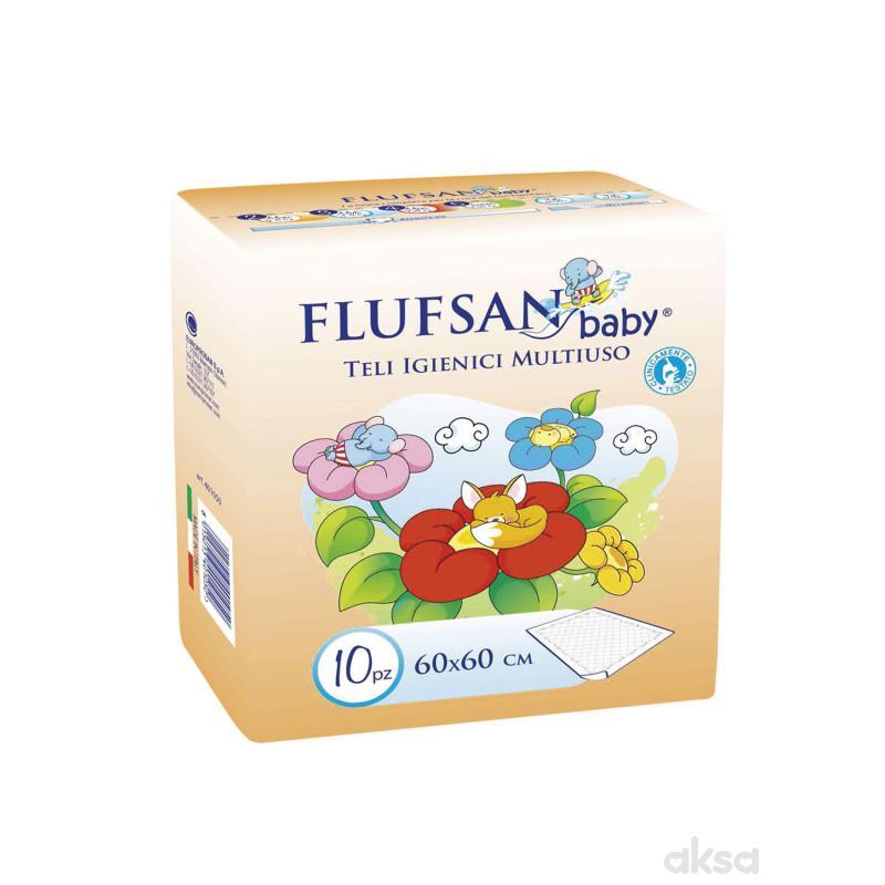 Flufsan baby nepromočivi podmetač 60x60 10 kom