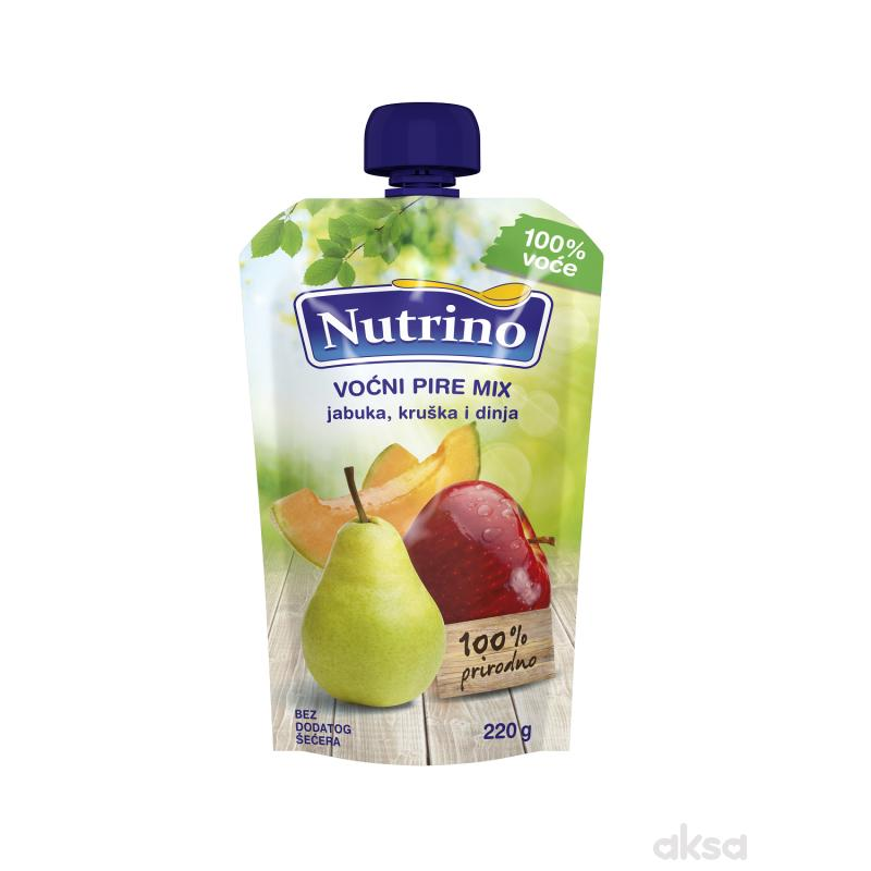 Nutrino pouch mix jabuka, kruška i dinja 220g