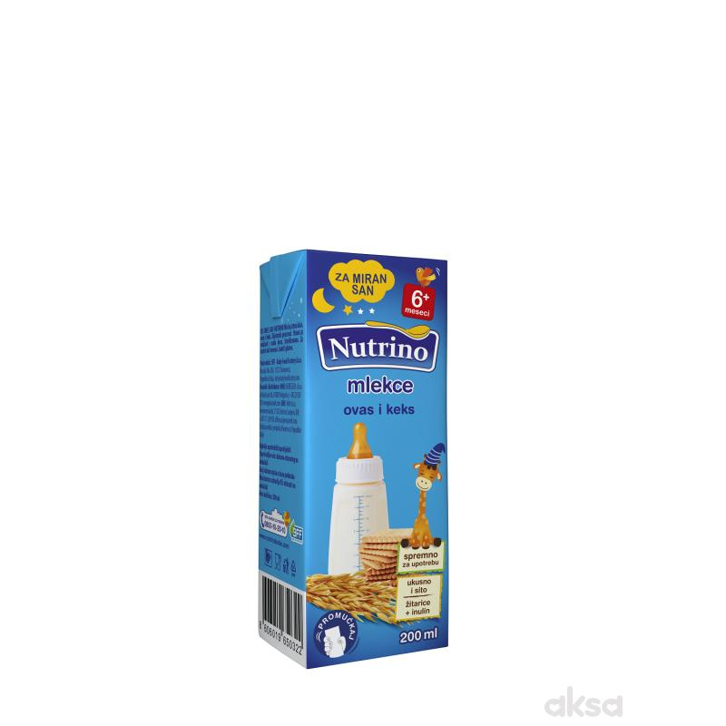 Nutrino mlekce tečna kaša ovas i keks 200ml