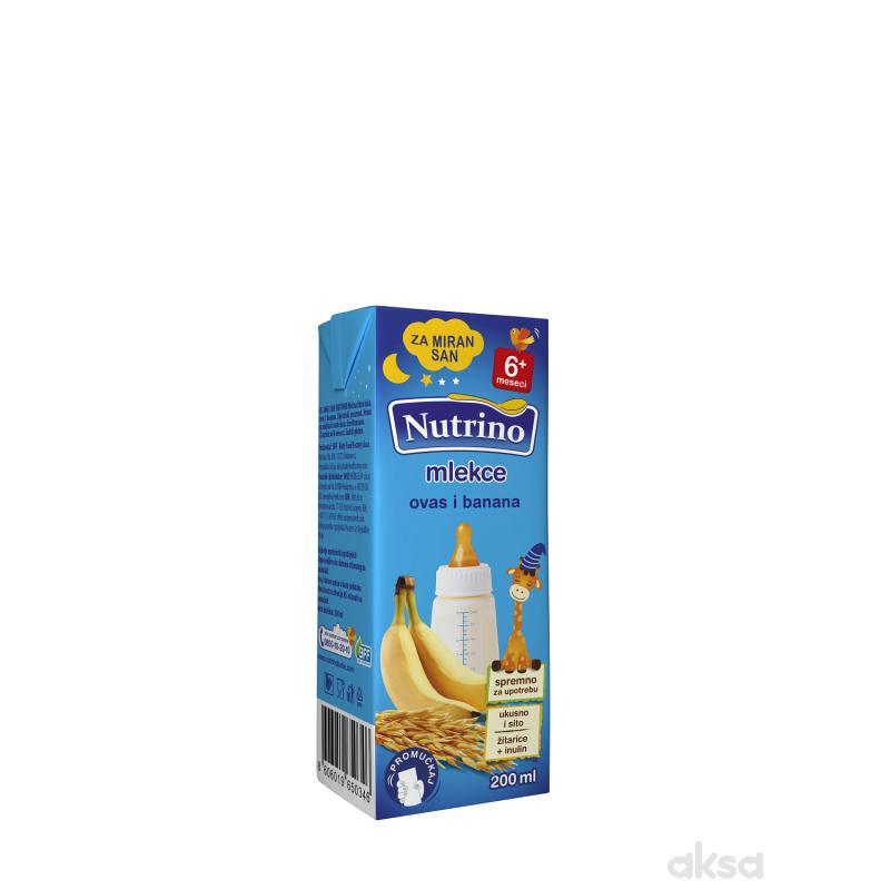 Nutrino mlekce tečna kaša ovas i banana 200ml