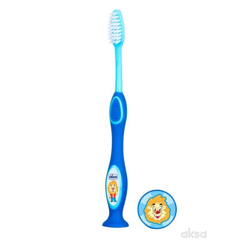 Chicco četkica za zube za dečake 3-6 god