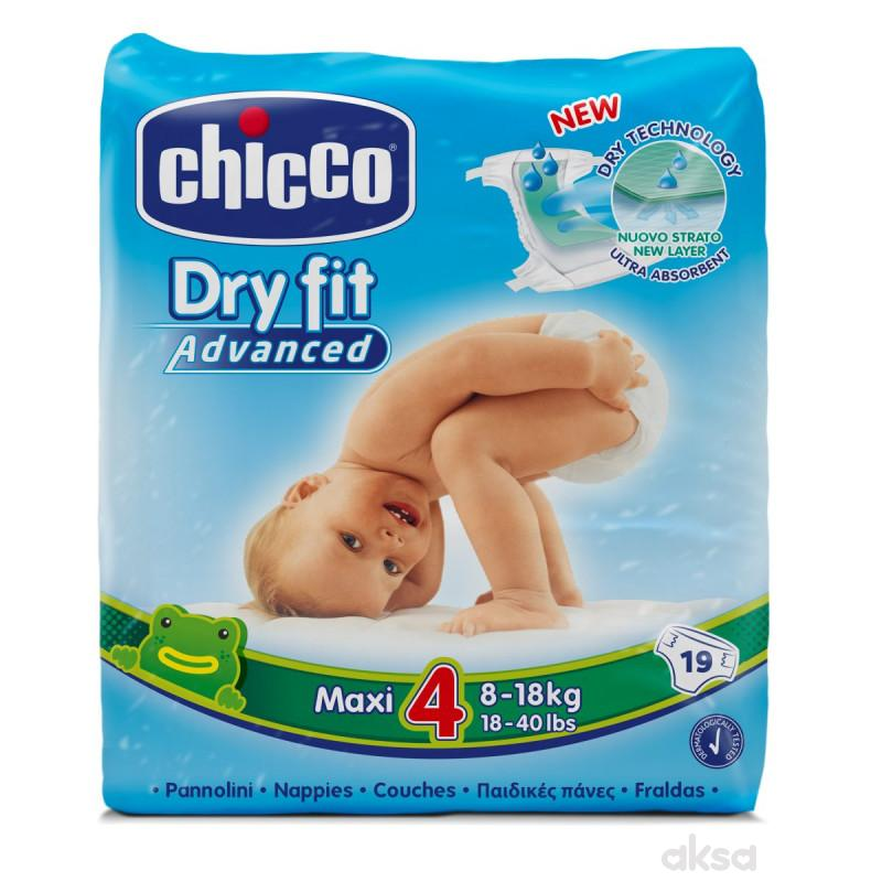 Chicco pelene DRYFIT 4 Maxi, 8-18 kg ,19 kom.