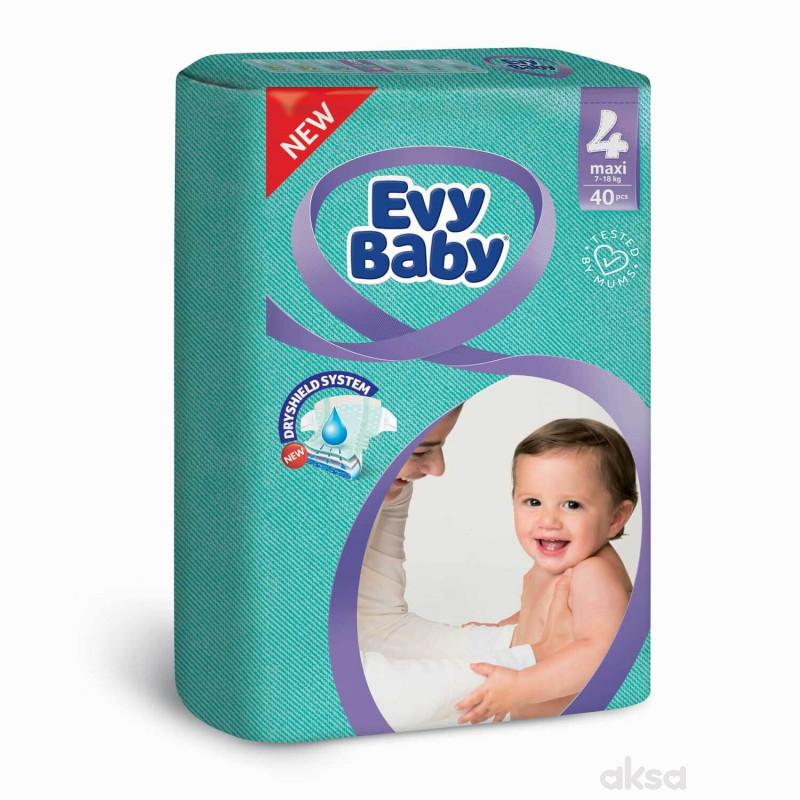 Evybaby pelene twinpack 4 maxi 40kom