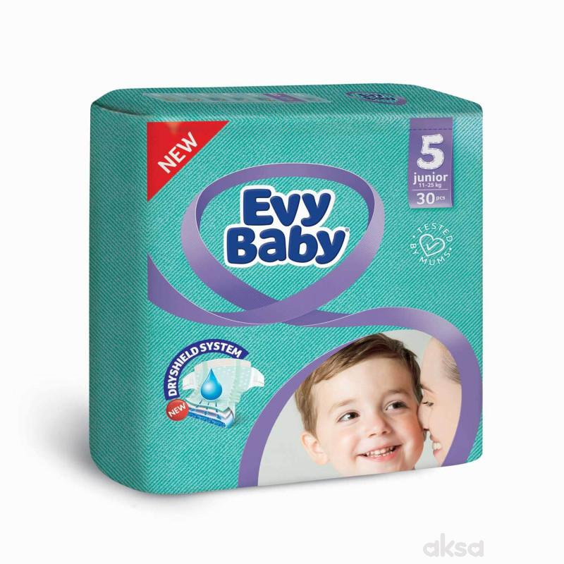 Evybaby pelene twinpack 5 Junior 30kom