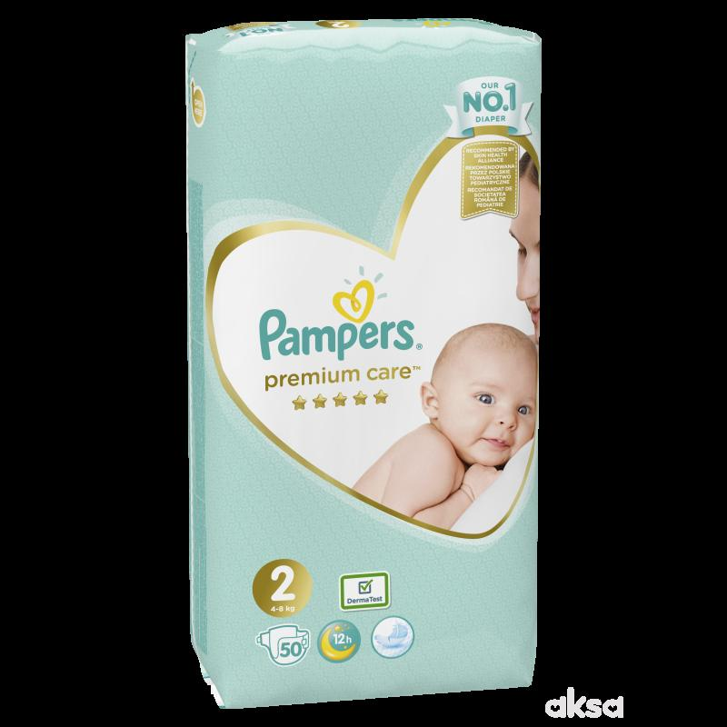 Pampers pelene premium VP 2 mini 3-6kg 50kom