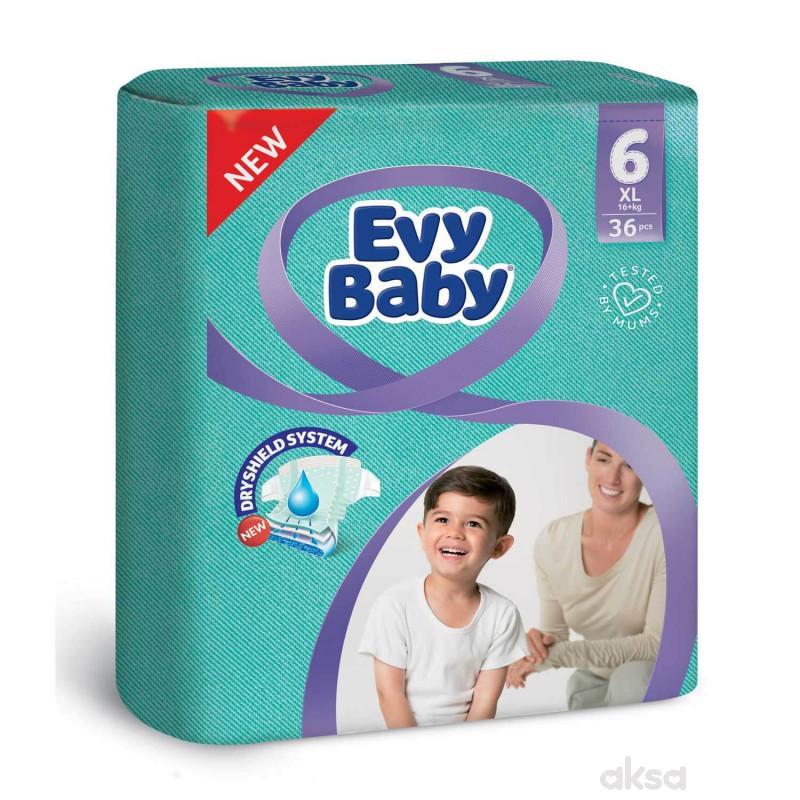 Evybaby pelene XL twinpack 15-30kg 36kom
