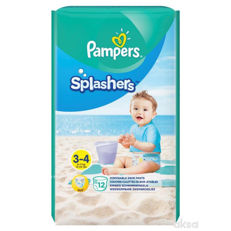 Pampers pelene za kupanje 3 midi 6-11kg 12kom