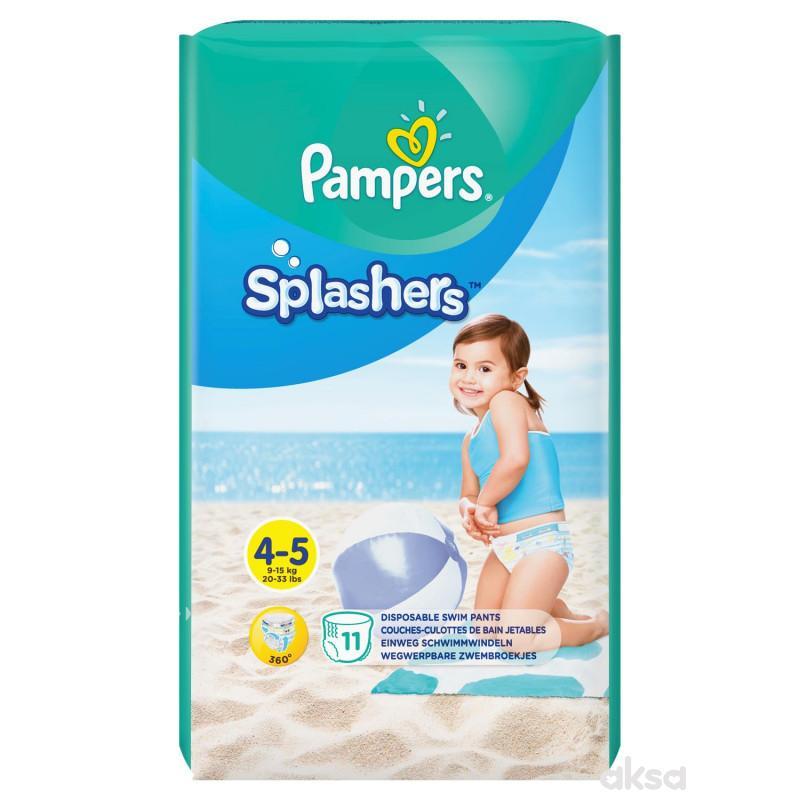 Pampers pelene za kupanje 4 maxi 9-15kg 11kom
